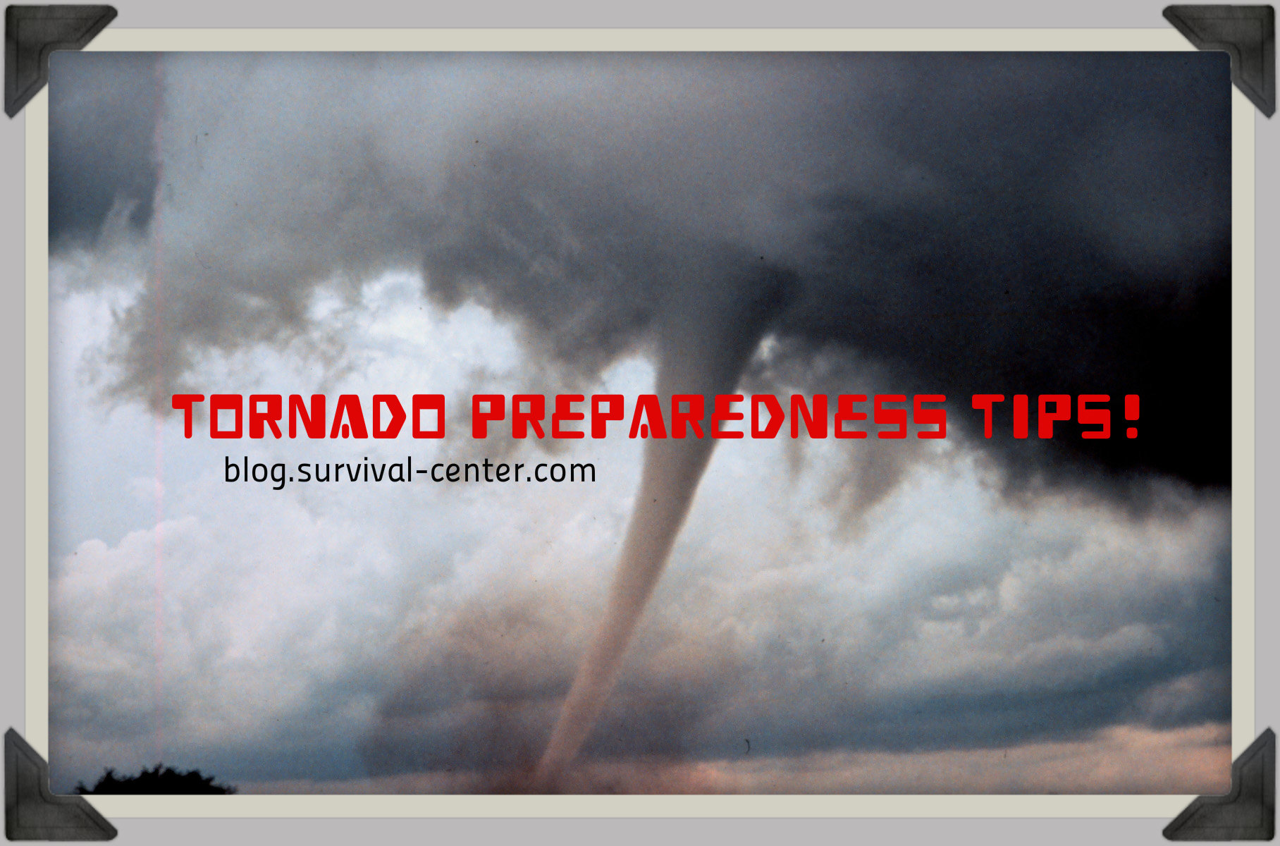 Tornado Preparedness: 11 Crucial Items List