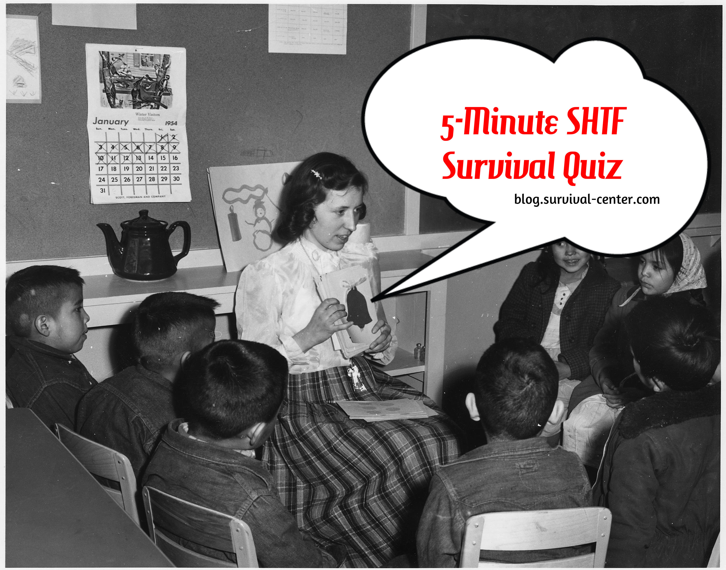 5 Minute SHTF Survival Quiz