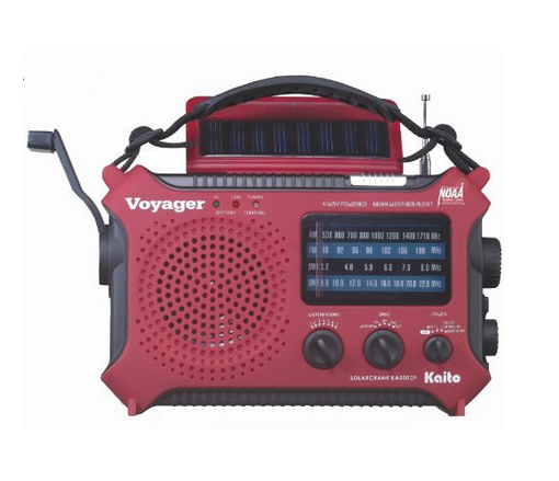 Emergency Solar Radio