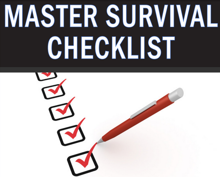 The ULTIMATE Survival & Prepping Checklist PDF