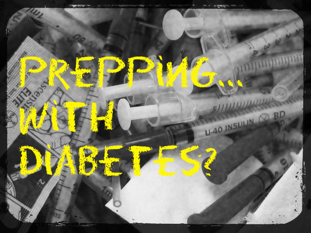 <h1>Prepping with Diabetes 101</h1>