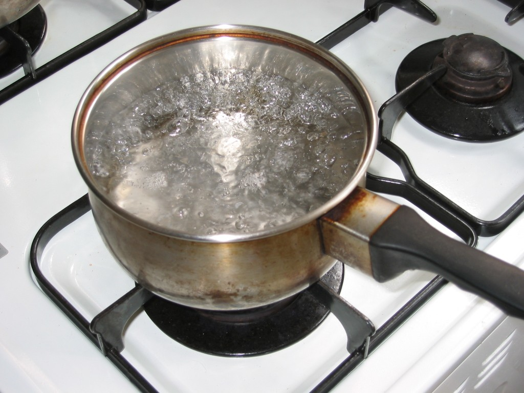 Boil Water to Purify