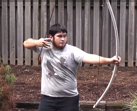 <h1>DIY PVC Bow Cost Only $7</h1>