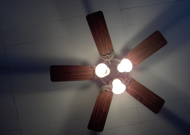 This Survival Hack Shows You How To Get Free Energy From A Ceiling Fan