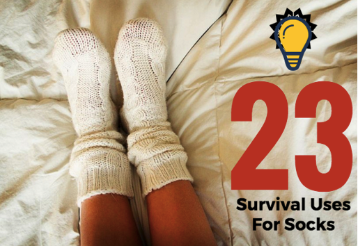 <h1>23 Survival Uses For Socks</h1>