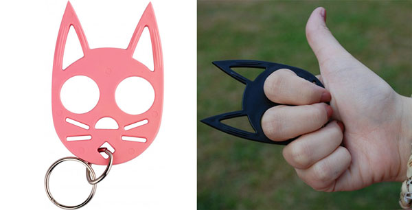 spy weapons - wild kat keychain
