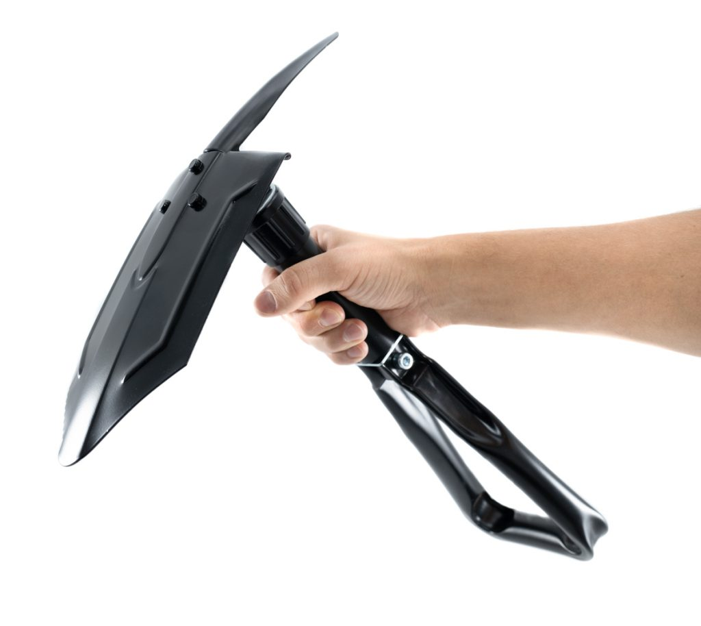 Folding Shovel w/ Pick