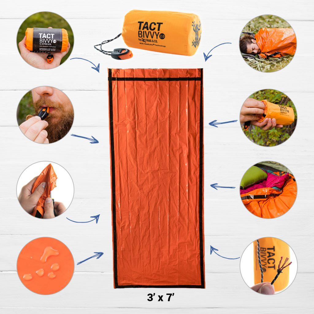 Tact Bivvy 2.0 Emergency Sleeping Bag